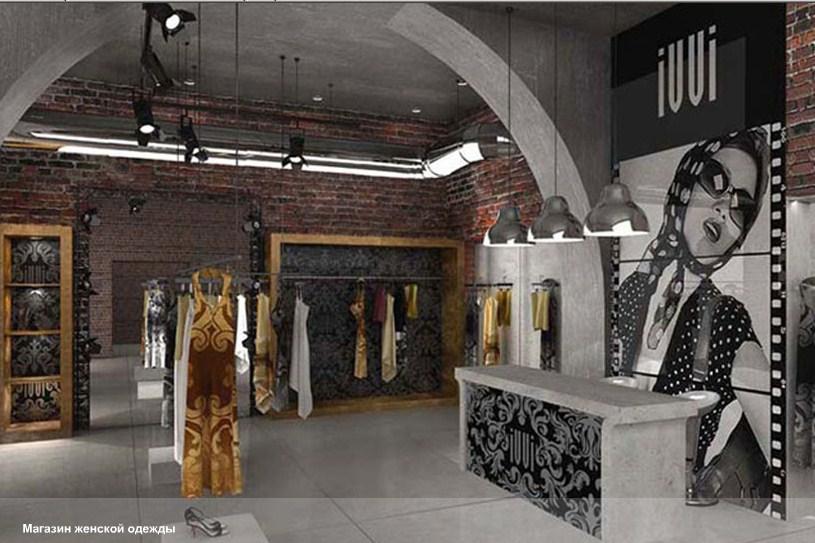 Дизайн магазинов женской одежды фото