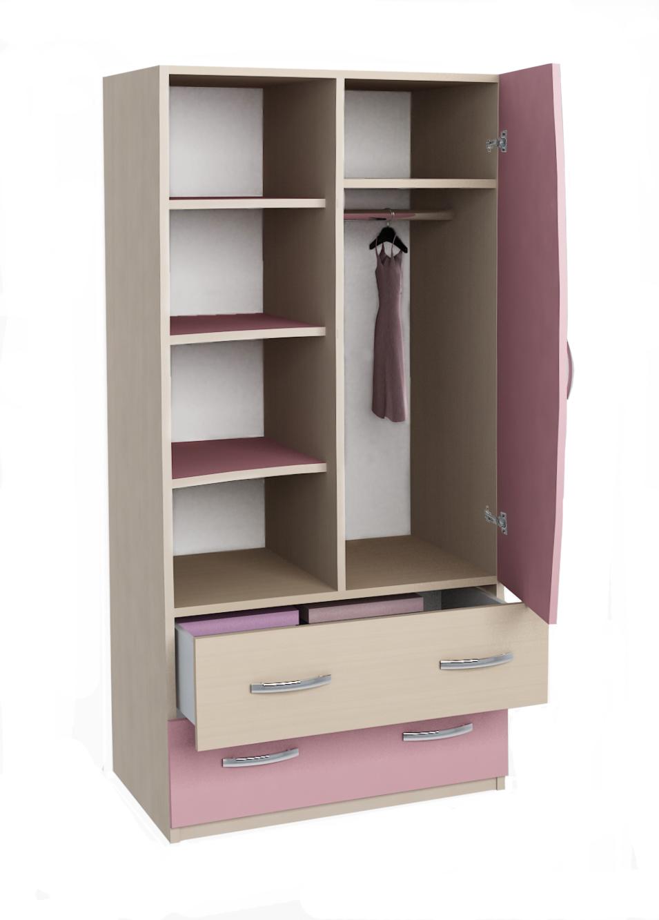 Мебель - шкафы для одежды.