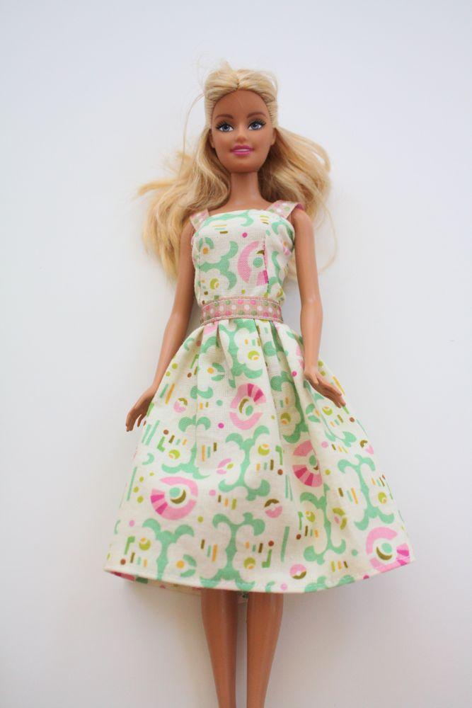 Как сделать платье для куклы своими руками легко